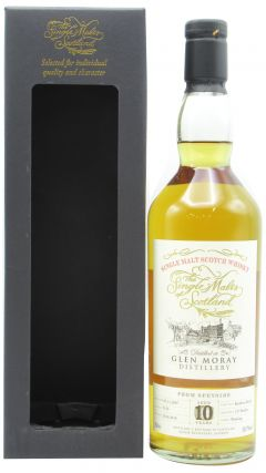 Glen Moray - Single Malts of Scotland Single Cask #5133 - 2007 10 year old Whisky