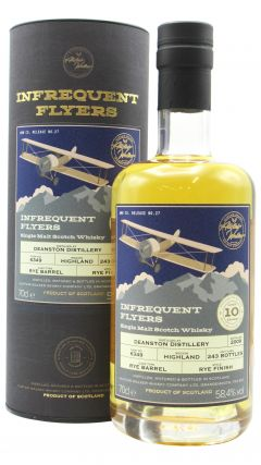 Deanston - Infrequent Flyers Single Cask #6349 - 2009 10 year old Whisky