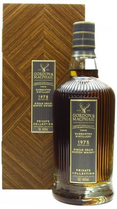 Dumbarton (silent) - Private Collection Single Grain - 1975 45 year old Whisky