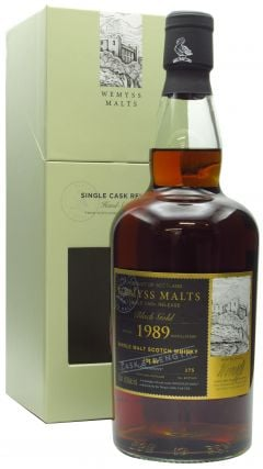Bowmore - Black Gold Single Cask - 1989 30 year old Whisky