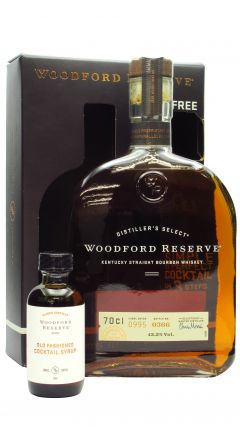 Woodford Reserve - Old Fashioned Cocktail Syrup Giftpack & Bourbon Whiskey