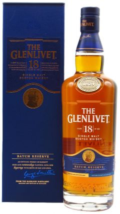 Glenlivet - Single Malt Scotch 18 year old Whisky