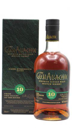 Glenallachie - Cask Strength Batch 3 10 year old Whisky