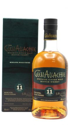 GlenAllachie - Moscatel Wood Finish Single Malt 11 year old Whisky