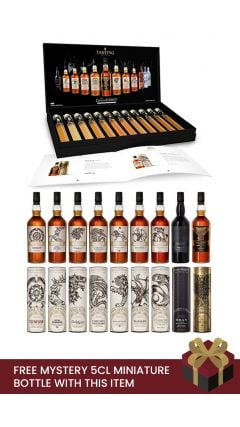 Game Of Thrones - All 9 Bottles & Complete Tasting Set Collection Gift Set Whisky