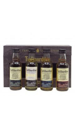 Tullibardine - The Tasting Collection - 4 x 5cl Miniature Gift Pack Whisky