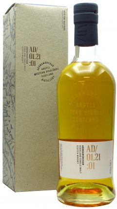 Ardnamurchan - AD/01.21:01 Single Malt 5 year old Whisky