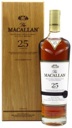 Macallan - Sherry Oak 2020 Release 25 year old Whisky