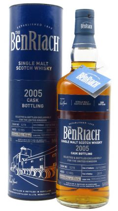 BenRiach - Single Cask #5278 - 2005 13 year old Whisky