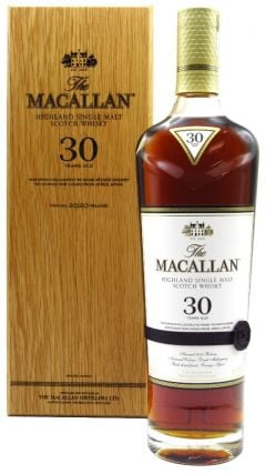 Macallan - Sherry Oak 2020 Release 30 year old Whisky
