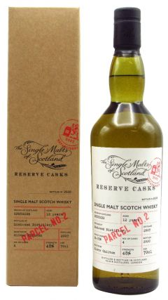 Linkwood - Single Malts of Scotland - Reserve Casks - Parcel #2 - 2007 12 year old Whisky