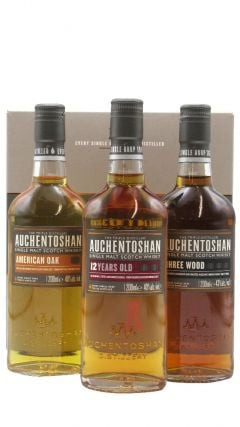 Auchentoshan - Ultimate Collection 3 x 20cl Gift Pack Whisky