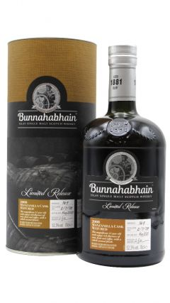 Bunnahabhain - Manzanilla Sherry Cask Finish SIngle Malt - 2008 10 year old Whisky