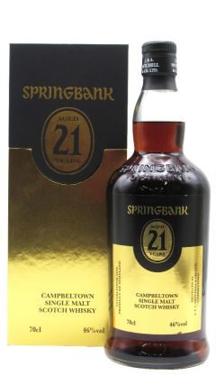 Springbank - Campbeltown Single Malt 2020 Edition  21 year old Whisky