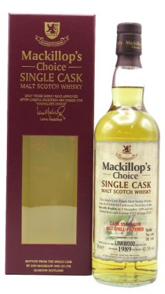 Linkwood - Mackillop's Choice Single Cask #6715 - 1989 30 year old Whisky