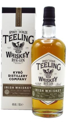 Teeling Whiskey Co. - Kyro Rye Gin Finish - Small Batch Collaboration Whiskey