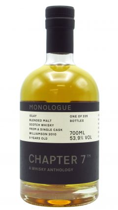 Williamson - Chapter 7 Monologue #6 - Single Cask #907 Blended Malt - 2010 9 year old Whisky