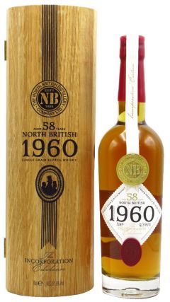 North British - The Incorporation Edition - 1960 58 year old Whisky