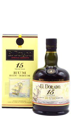 El Dorado - Guyanese 15 year old Rum
