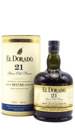 El Dorado - Guyanese 21 year old Rum