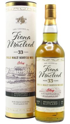 The Character Of Islay Whisky Company - Fiona Macleod - Islay Single Malt 33 year old Whisky