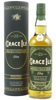 The Character Of Islay Whisky Company - Grace Ile - Islay Single Malt 25 year old Whisky