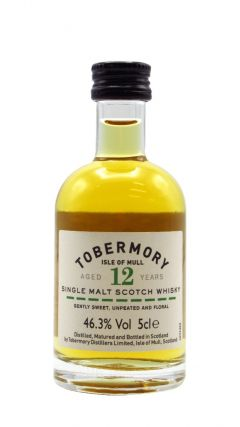 Tobermory - Single Malt Miniature 12 year old Whisky