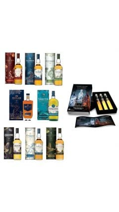 Various Distilleries - 2020 Special Releases The Complete Collection - All 8 Bottles + Free JW Gift Set Whisky
