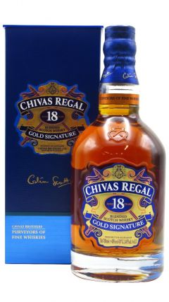 Chivas Regal - Blended Scotch 18 year old Whisky