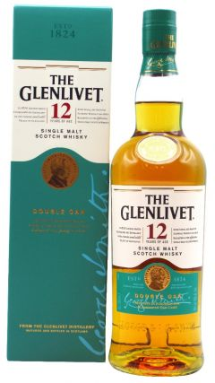 Glenlivet - Speyside Single Malt 12 year old Whisky