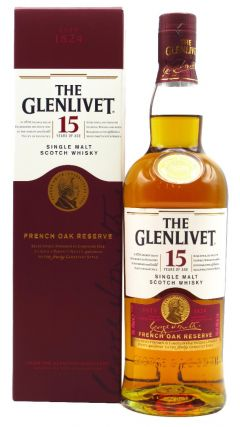 Glenlivet - French Oak - Speyside Single Malt 15 year old Whisky