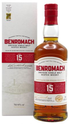 Benromach - Speyside Single Malt Scotch 15 year old Whisky