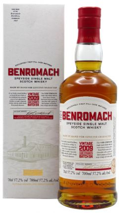 Benromach - Cask Strength Batch 04 - 2009 10 year old Whisky