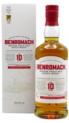 Benromach - Speyside Single Malt Scotch 10 year old Whisky