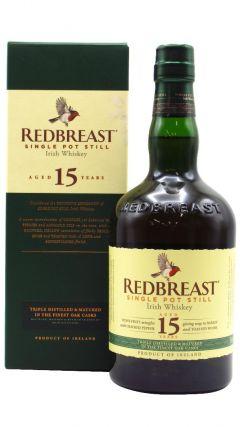 Redbreast - Single Pot Still Irish 15 year old Whiskey