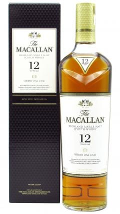 Macallan - Sherry Oak Cask 12 year old Whisky