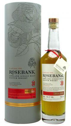 Rosebank (silent) - Release #1 - 1990 30 year old Whisky