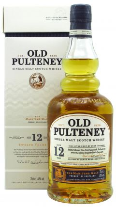 Old Pulteney - Single Malt Scotch 12 year old Whisky