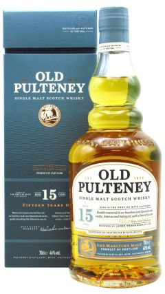 Old Pulteney - Single Malt Scotch 15 year old Whisky