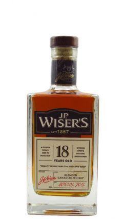 Wiser's - Blended Canadian  18 year old Whisky