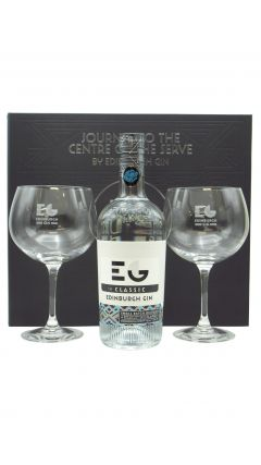 Edinburgh Gin - Glass Gift Set - Copa Glass x 2 & Classic Gin