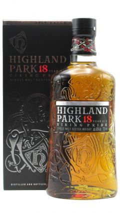 Highland Park - Single Malt Scotch Whisky 18 year old Whisky