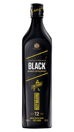Johnnie Walker - Icons Black Label 200th Anniversary 12 year old Whisky