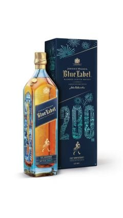 Johnnie Walker - Blue Label - Candleblue 200th Anniversary  Whisky