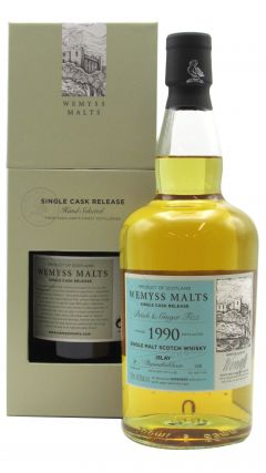 Bunnahabhain - Peach & Ginger Fizz Single Cask - 1990 28 year old Whisky