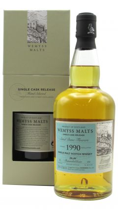 Bunnahabhain - Sand Dune Flowers Single Cask - 1990 28 year old Whisky