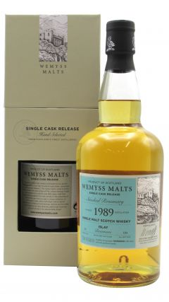 Bowmore - Wemyss Malts - Smoked Rosemary Single Cask - 1989 30 year old Whisky