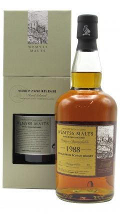 Invergordon - Vintage Chesterfields - Single Cask - 1988 30 year old Whisky