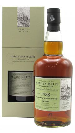 Glenrothes - Patchouli and Sandalwood Oil - Single Cask - 1988 31 year old Whisky