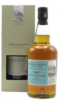 Bunnahabhain - Heather & Leather Single Cask - 1987 31 year old Whisky
